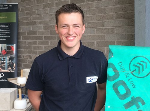 Connor Liddell NFRC Apprentice of the Year