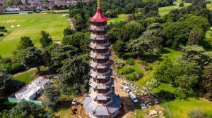 kew gardens the great pagoda